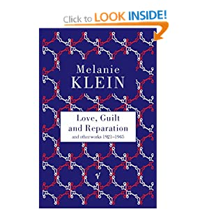 Love Guilt And Reparation Amazon Co Uk The Melanie border=