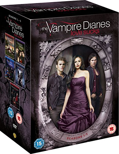 The Vampire Diaries - Season 1-5 [DVD] [2014]