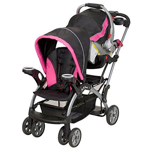 baby trend sit n stand ultra stroller bubble gum toddler transport strollers. Black Bedroom Furniture Sets. Home Design Ideas