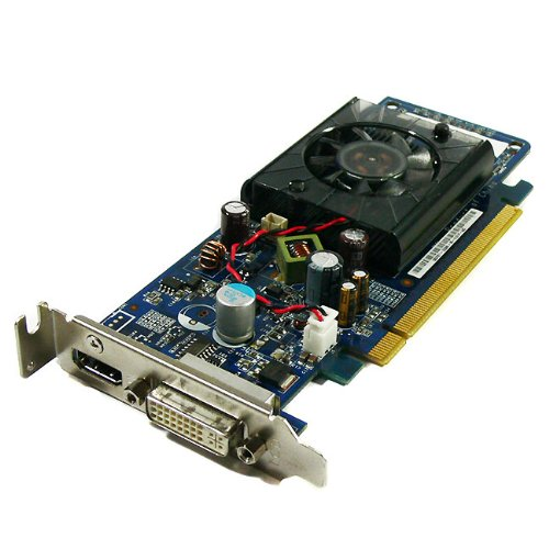 ... GeForce 9300GS PCI Express x16 DVI HDMI Low Profile Card 466853-001