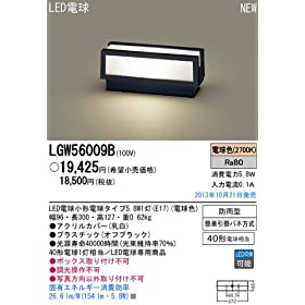�p�i�\�j�b�N�Ɩ����iPanasonic) Everleds LED�和�� LGW56009B