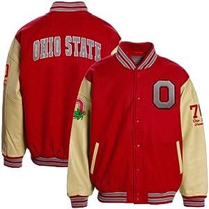 Ohio State Buckeyes Varsity Letterman Jacket by Colosseum