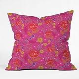DENY Designs Stephanie Corfee Bright Bouquet Throw Pillow, 16 x 16