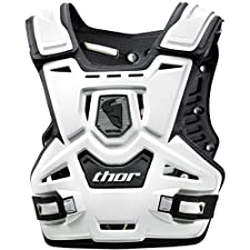 THOR SENTINEL ROOST CHEST PROTECTOR ADULT WHITE REGULAR