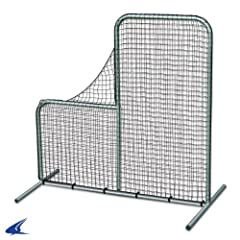 Buy Champro Pitcher's L-Screen, Envelope Style (Silver Green, 6 x 6-Feet) by Champro