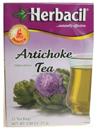 Herbacil Atichoke Tea 25 Ct