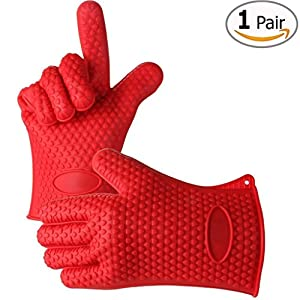 Kitchen Elements Ultra-Flex Silicone Kitchen Cooking Mitt