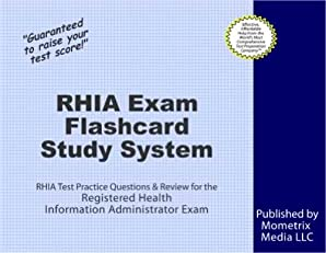 RHIA Exam Flashcard Study System: RHIA Test Practice Questions & Review for the Registered Health Information Administrator Exam
