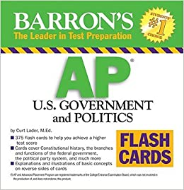 politics flash cards
