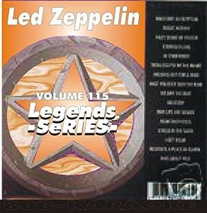 Led Zeppelin Karaoke Disc - Legends Series CDG