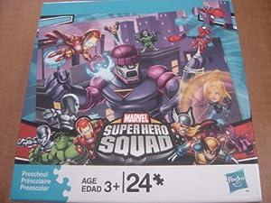 Super Hero Squad Puzzle