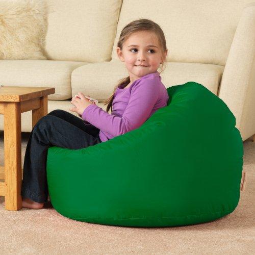 bean-bag-bazaar-large-childrens-bean-bags-green-100-water-resistant-indoor-outdoor-huge-kids-bean-ba