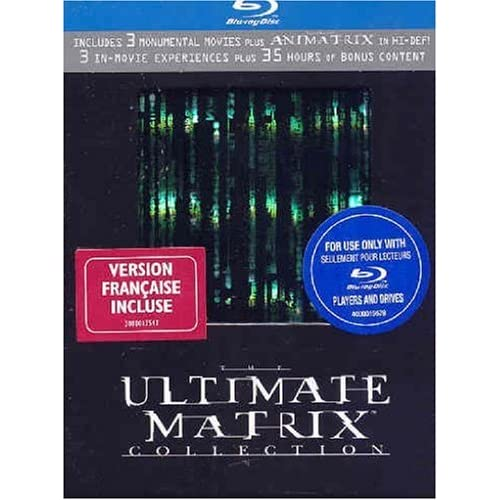 ultimate matrix ps3 blu-ray