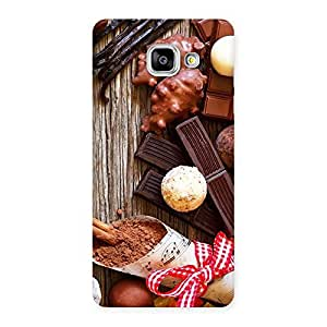 Gorgeous Chocolate Candies Multicolor Back Case Cover for Galaxy A5 2016