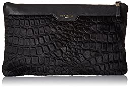 Liebeskind Berlin Carol Clutch, Black, One Size