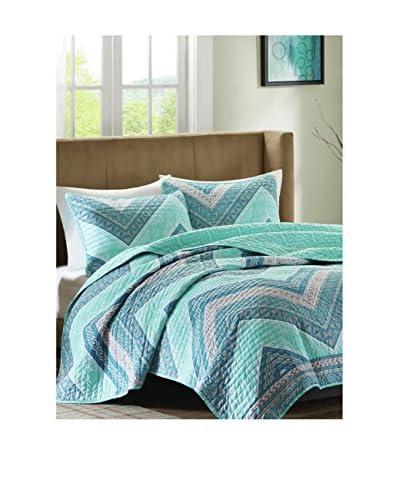Luxury Home 3-Piece Marine Quilt Set