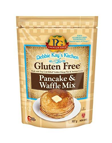 Debbie Kay's Gluten Free Baking Mixes Pancake and Waffle Mix, Gluten Free, 2 Pound