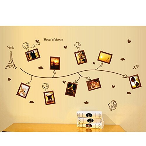 coffled-photo-frame-wall-decal-stickersfabulous-colorful-rich-design-removable-wall-decoration-for-b