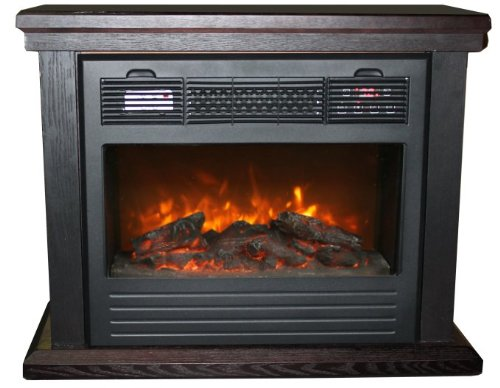 Purchase Lifesmart Electric Dynamic Infrared Fireplace Heater Top Gas Fireplace Reviews