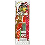 Redbag Lord Ardhnareshwara Madhubani Folk Painting 1321 (55.88 Cm, 19.05 Cm, 0.51 Cm)