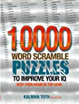 10000 Word Scramble Puzzles to Improv...