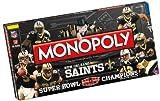 New Orleans Saints Super Bowl XLIV Champions Monopoly