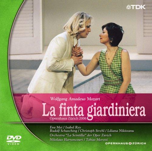 モーツァルト 歌劇《にせの女庭師》 [DVD]