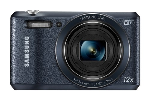51PwBJKhRlL Samsung WB35F 16.2MP Smart WiFi & NFC Digital Camera with 12x Optical Zoom and 2.7 LCD (Black)