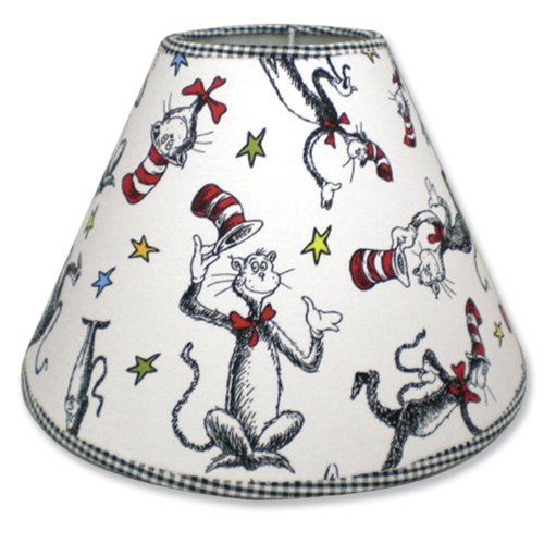 Trend Lab Dr. Seuss Lampshade, Cat In the Hat