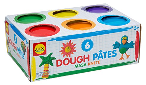 ALEX Toys Artist Studio Super Modeling Dough (6) (Soft Play Dough compare prices)