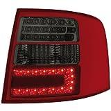 Dectane RA15DLRSL LED Rückleuchten Audi A6 Avant 4B 12.97-01.05 _ red/smoke