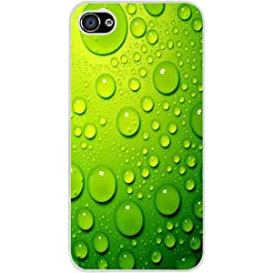 Casotec Green Bubbles Design Hard Back Case Cover for Apple iPhone 5 / 5S