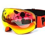 Masque de ski double