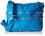 Kipling Alvar Shoulder Bag (Icy Blue)
