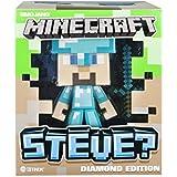 """Minecraft Steve Vinyl 6"""" Limited Edition Figure with Minecraft Diamond Steve Vinyl 6"""" Diamond Edition Figure"""