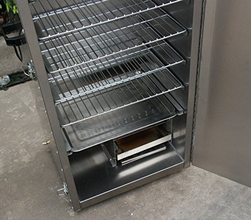 Hakka electric stainless steel smoker barbecue bbq grill