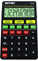 Victor V14 Personal Financial Calculator For DummiesTM