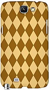 Timpax protective Armor Hard Bumper Back Case Cover. Multicolor printed on 3 Dimensional case with latest & finest graphic design art. Compatible with Samsung Galaxy Note II N7100 Design No : TDZ-22151