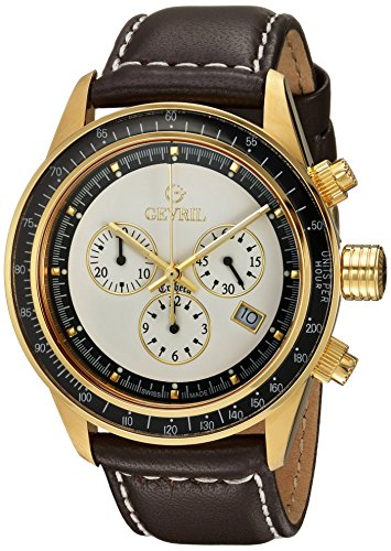 Gevril-Mens-A2111-Tribeca-Analog-Display-Quartz-Brown-Watch