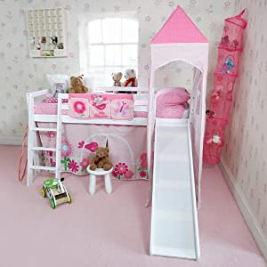 Flower Midsleeper with slide and accessories
