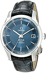 Omega Men's 43133412103001 Analog Display Automatic Self Wind Black Watch