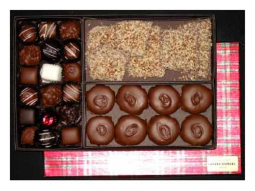 Three Cheers Holiday Chocolates Gift Box