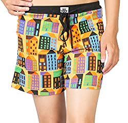 Nuteez Multi Colored Women's Shorts