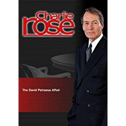 Charlie Rose - The David Petraeus Affair (November 13, 2012)