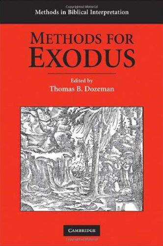 Methods for Exodus (Methods in Biblical Interpretation)