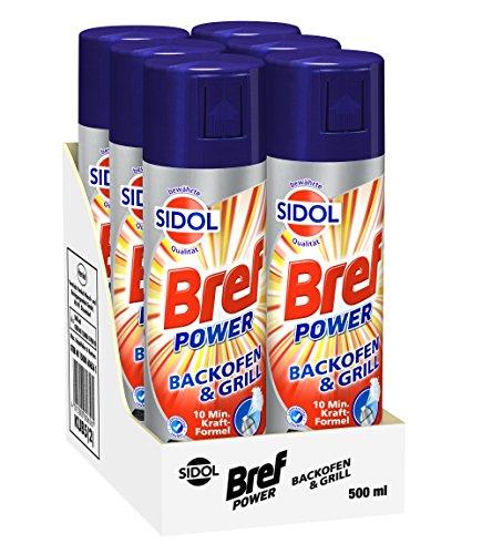 Bref Power Backofen- & Grillreiniger mit bewährter Sidol...