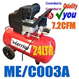 24 Litre 24L Air Compressor 2HP Direct Drive 230V 7.3 cfm