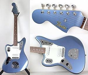 Amazon.com: Fender Japan 66 Reissue Jazzmaster Left Hand JM66/LH OLB