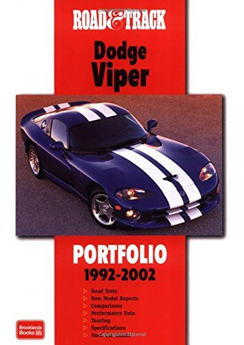 road-and-track-dodge-viper-portfolio-1992-2002-road-track-series-by-rm-clarke-28-oct-2002-paperback