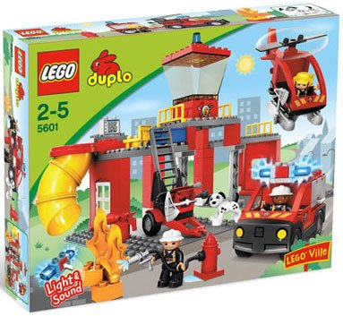 51PwUjx2KnL Cheap Price LEGO Duplo Legoville Fire Station (5601)